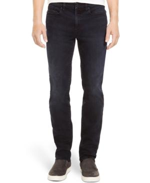 Kenneth Cole Reaction Straight-Leg Dark-Wash Stretch-Denim Jeans