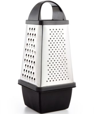 Martha Stewart Collection 4 Sided Grater With Storage, Created For Macyu0027s