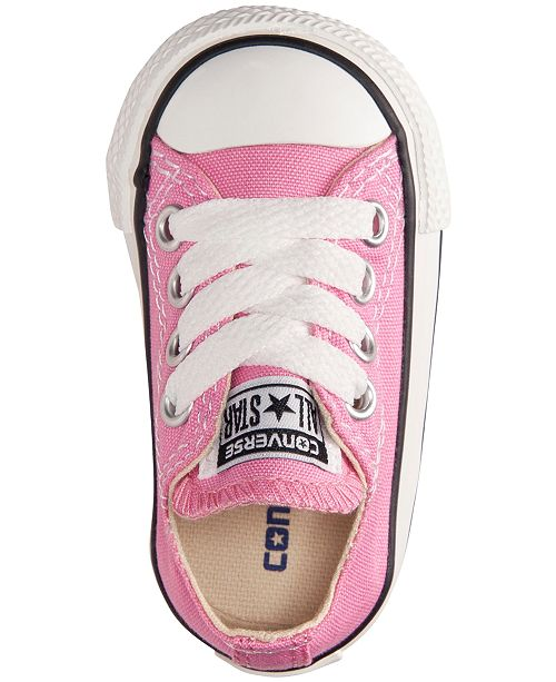 7399acc0d58c ... Converse Toddler Girls  Chuck Taylor Original Sneakers from Finish ...