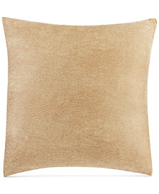 "Sure Fit Stretch Faux Leather 18"" x 18"" Throw Pillow"