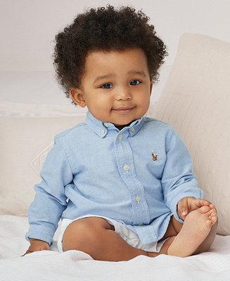 Polo Ralph Lauren Ralph Lauren Baby Boys Solid Oxford