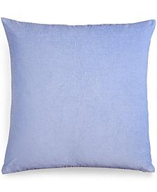 bluebellgray Velvet Periwinkle European Sham