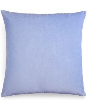 bluebellgray Velvet Periwinkle European Sham Bedding 2382524
