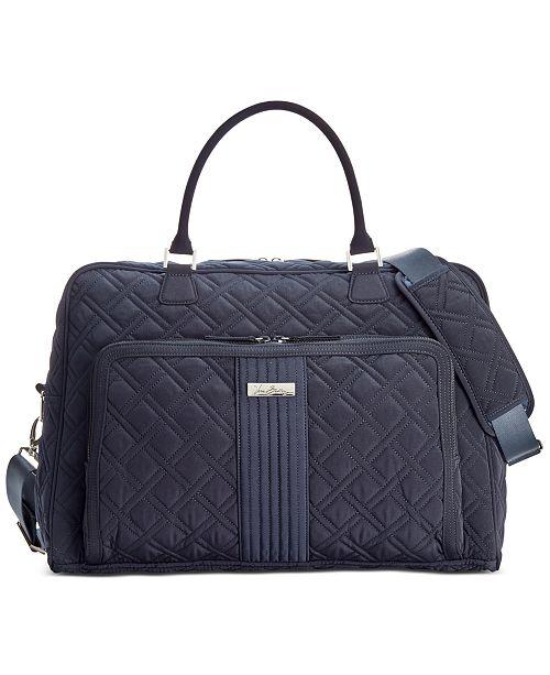 Vera Bradley Weekender   Reviews - Handbags   Accessories - Macy s bd90c571c4889