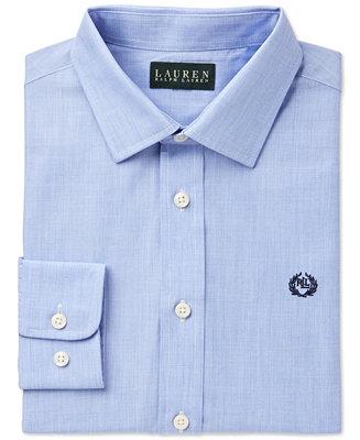 Lauren Ralph Lauren Solid Dress Shirt Big Boys Amp Reviews