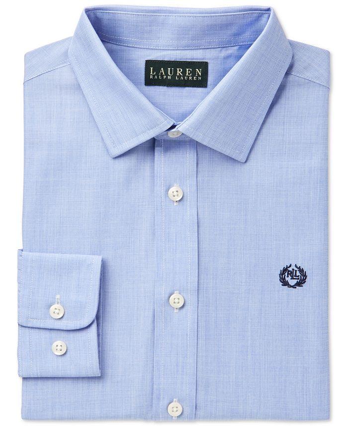 Lauren Ralph Lauren - Boys' Solid Dress Shirt