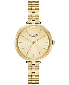 Women's Holland Gold-Tone Stainless Steel Bracelet Watch 34mm 1YRU0858