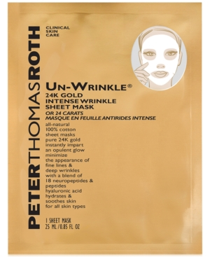Peter Thomas Roth Un-Wrinkle 24K Gold Intense Wrinkle Sheet