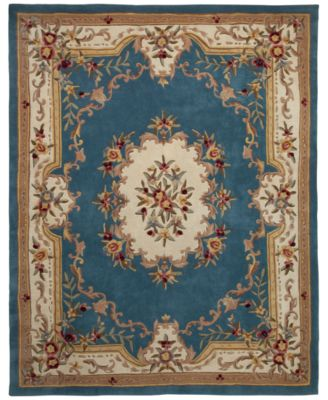 "CLOSEOUT! Majesty Aubusson 2'6"" x 8' Runner Rug, Created for Macy's"