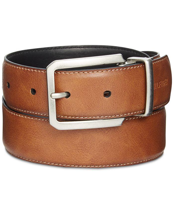 Tommy Hilfiger - Men's Big & Tall Reversible Belt