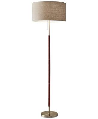 Adesso Hamilton Floor Lamp Lighting Amp Lamps Home Macy S