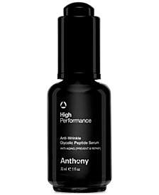 Anthony Men's High Performance Anti-Wrinkle Glycolic Peptide Serum, 1 oz