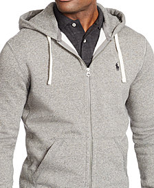 Polo Ralph Lauren Men's Hoodie, Core Full Zip Hooded Fleece