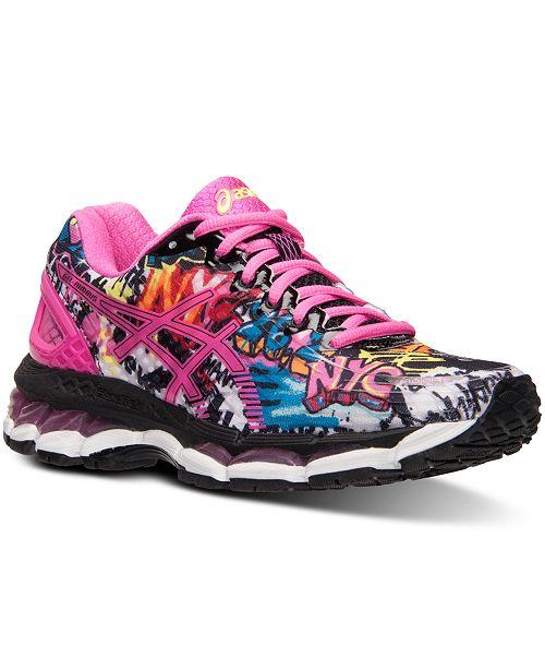 Asics Women's GEL-Nimbus 17 NYC Running Sneakers from Finish Line ...