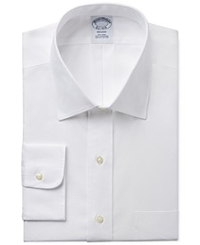 Regent Slim-Fit Non-Iron Pinpoint Solid Dress Shirt