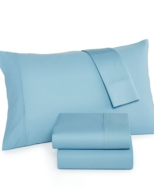 AQ Textiles CLOSEOUT! Finley Extra Deep Pocket California King 4-pc Sheet Set, 750 Thread Count, Created for Macy's