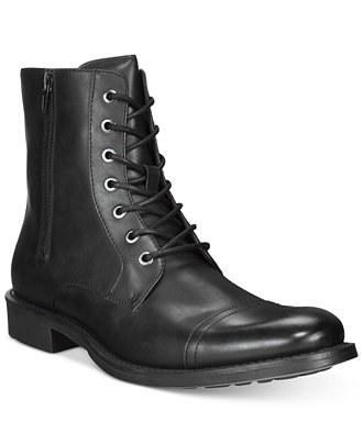 Unlisted By Kenneth Cole Blind Turn Boots Shoes Men