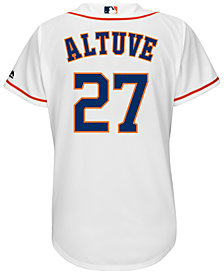 Majestic Women's Jose Altuve Houston Astros Replica Jersey