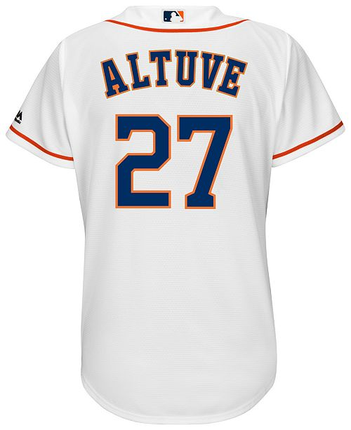 super popular 249ac 22f7f Women's Jose Altuve Houston Astros Replica Jersey