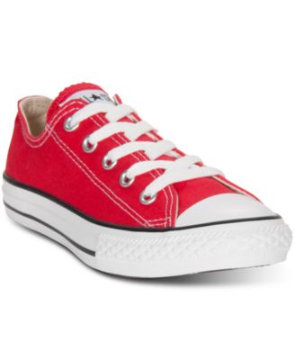 90d0fee2f0d6 Converse Little Boys u0027  u0026 Girls u0027 Chuck Taylor Original  Sneakers from ... converse taylor. Converse Chuck Taylor Low Top All Star  ...