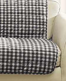 Velvet Deluxe Pet Armless Loveseat Slipcover with Sanitize Odor Release