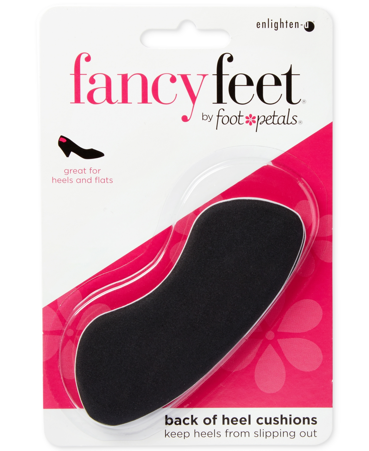 Fancy Feet by Foot Petals Back of Heel Cushions Shoe Inserts Women's Shoes