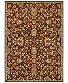 "Home Ancient Times Ancient Treasures Brown 3'9"" x 5'9"" Area Rug"