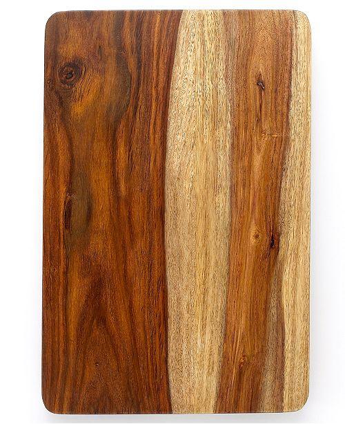 Martha Stewart Collection Sheesham Wood Cutting Board, Created for Macy's