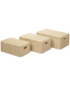 3-Pc. Paper Rope Basket Set