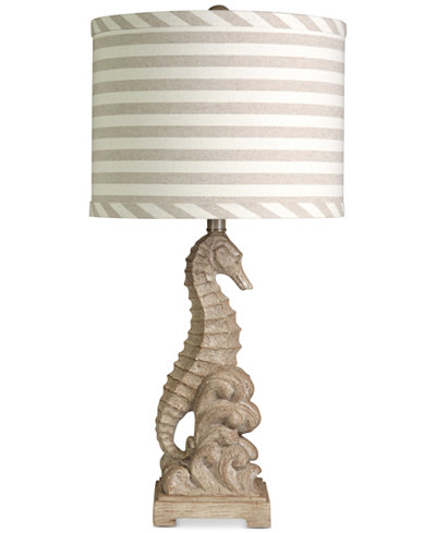StyleCraft Sandy Seahorse Table Lamp - Lighting & Lamps - For The ...