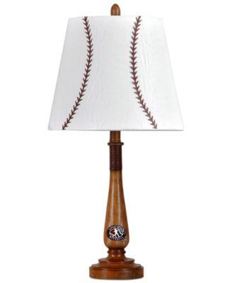 StyleCraft Little League Baseball Bat Table Lamp