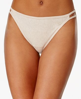Vanity Fair Illumination Heathered Cotton Bikini 18315