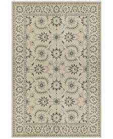 "Oriental Weavers Richmond Isphahan Ivory/ Grey 7'10"" x 10'10"" Area Rug"
