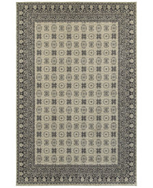 "Oriental Weavers Richmond Kandula Ivory/Grey 7'10"" x 10'10"" Area Rug"