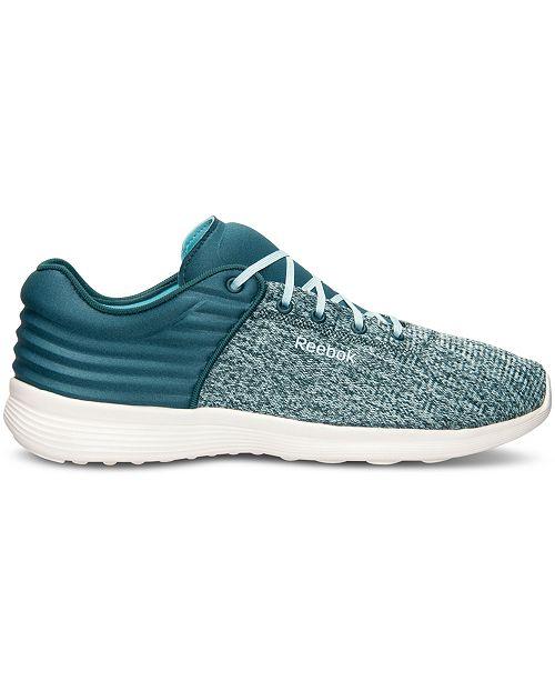 eb43a128b11 Reebok Women s Skyscape Fuse Walking Sneakers from Finish Line ...