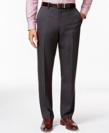 Flat-Front Slim-fit Herringbone Wrinkle-Resistant Pants, Created for Macy's