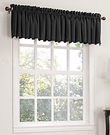 "Sun Zero Grant Room Darkening Pole Top 54"" x 18"" Valance"