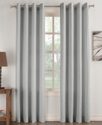High Quality 918 Janice Solid Crushed Microfiber Pair Of Grommet Panels