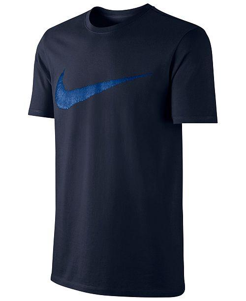 3ca44674 Nike Men's Hangtag Swoosh T-Shirt & Reviews - T-Shirts - Men - Macy's