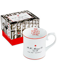Macy's Vintage Boxed Mug, Created for Macy's