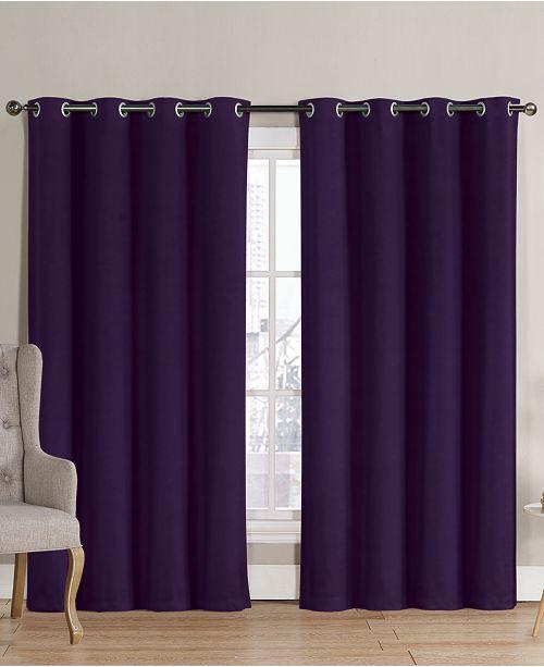 Curtain Panel Victoria Clics Neil Blackout Grommet 52 X 90