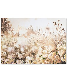 Layered Meadow Landscape Wall Art