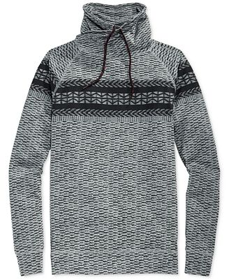 American Rag Men's Fair Isle Fake Out Sweater - Sweaters - Men ...