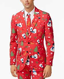 OppoSuits Men's Christmaster Christmas Suit