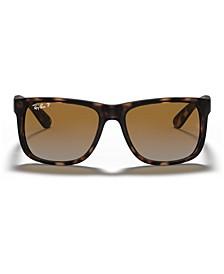 Polarized Sunglasses , RB4165 JUSTIN GRADIENT