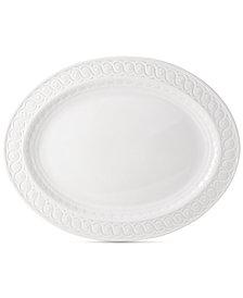 """Bernardaud Dinnerware, Louvre Oval Tart Platter, 13"""""""