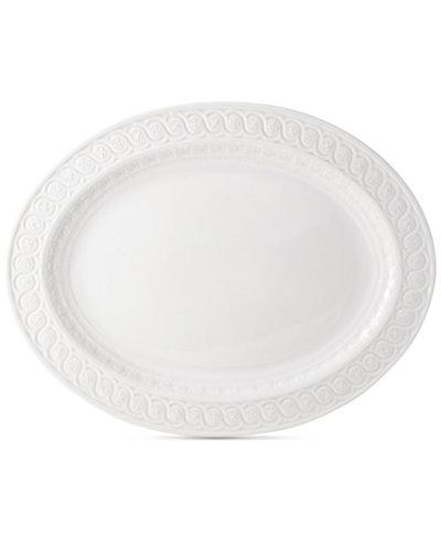 Bernardaud Dinnerware, Louvre Oval Tart Platter, 13