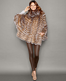 The Fur Vault Fox Fur Cape