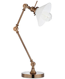 Decorator's Lighting Adjustable Swing Arm Table Lamp