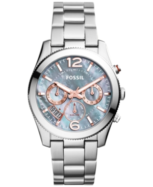 Fossil Women's Perfect Boyfriend Stainless Steel Bracelet Watch 40mm ES3880